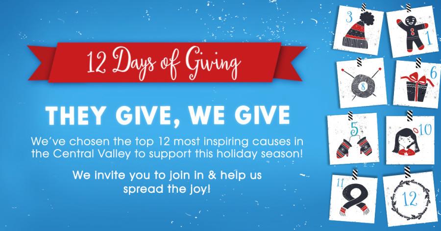 12 Days of Giving Blog Header